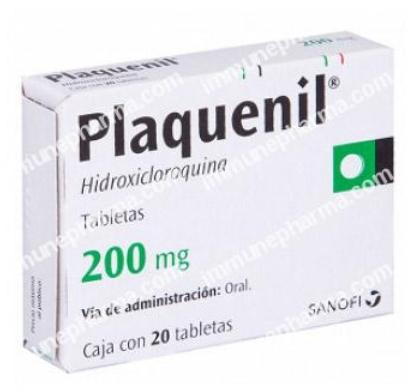Plaquenil generic (Sanofi) Immune Pharmaceuticals